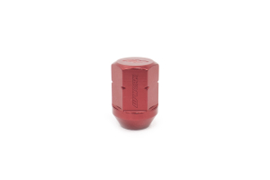 Work Wheels RS Lug Nut M12x1.25 Red Close End (Part Number: )