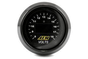 AEM Volt Gauge Digital 52mm ( Part Number: 30-4400)