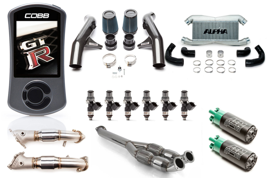 Nissan GT-R Stage 3 Carbon Fiber Power Package - Nissan GT-R 2015-2018