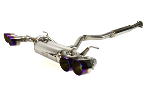 MXP SP Cat Back Exhaust w/ Burnt Tips (Part Number: )