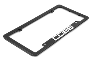 COBB Tuning License Plate Frame (Part Number: )