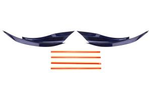 OLM Version 2 Paint Matched Headlight Eyebrows - Subaru WRX / STI 2015+
