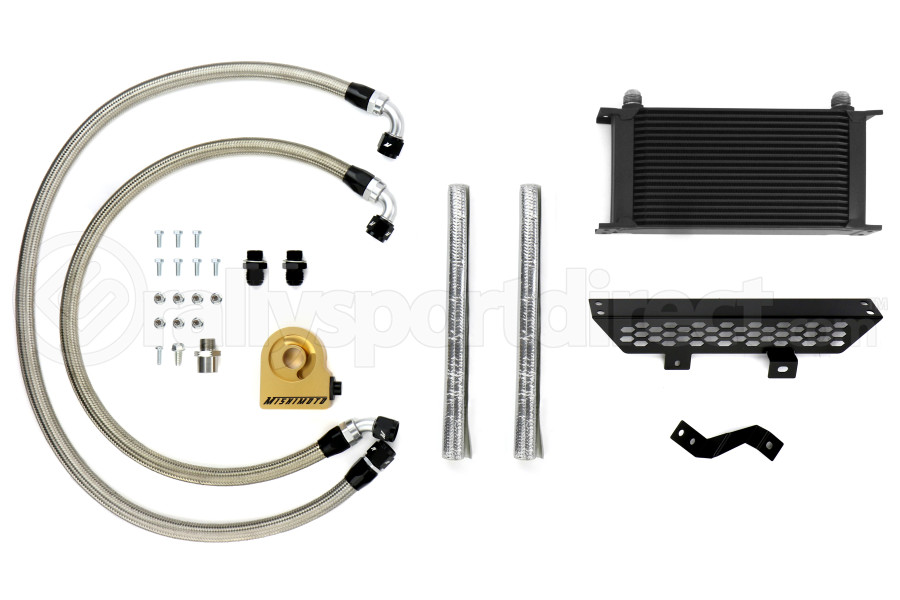 Mishimoto Oil Cooler Kit Black Thermostatic - Ford Focus ST 2013+