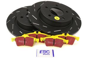 EBC Brakes S9 Rear Brake Kit Yellowstuff Pads and USR Rotors - Mazdaspeed 3 2007-2013