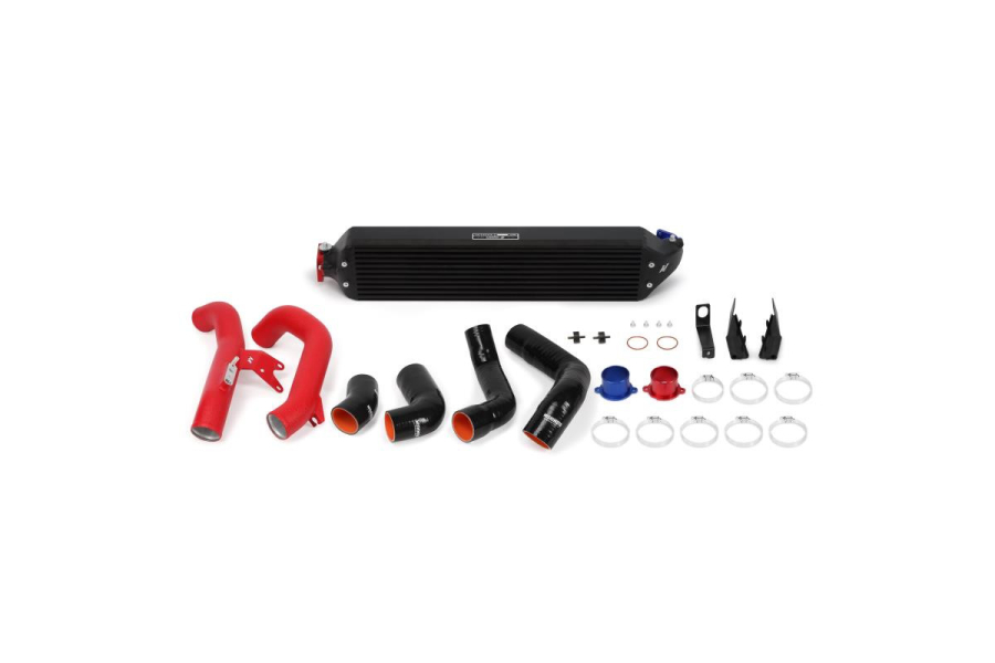 Mishimoto Performance Intercooler Kit Red Piping/Black Core - Honda Civic 1.5T 2016+