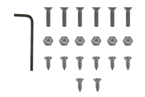 SRP Racing Billet Aluminum Sports Racing Pedals - Subaru Models (Inc. WRX / STI 2015 - 2020 / BRZ 2013 - 2020)