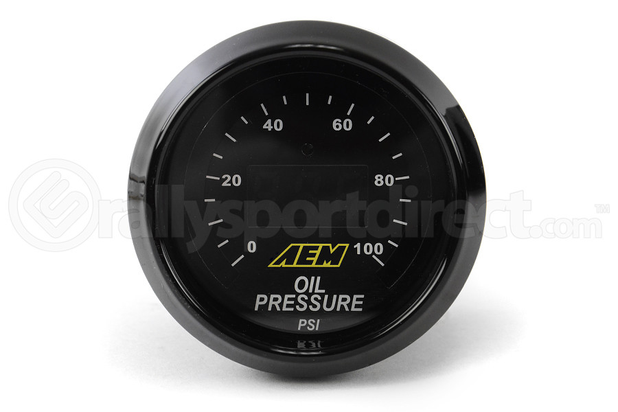 AEM Oil/Fuel Pressure Gauge Digital 52mm (Part Number:30-4401)