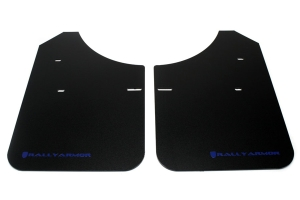Rally Armor Classic Mud Flaps Blue Logo (Part Number: )