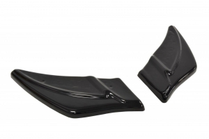Maxton Gloss Black V2 Rear Side Splitters  (Part Number: )
