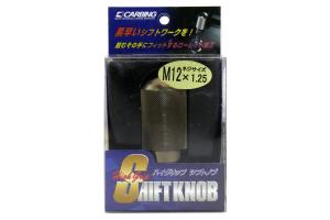 Carbing High Grip Shift Knob Gunmetal M12x125   CA 321 120 4 T