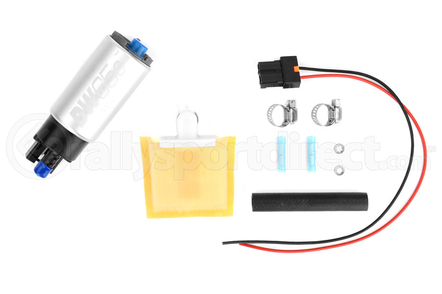 DeatschWerks DW65c Series Fuel Pump (without Mounting Clips) w/ Install Kit (Part Number:9-651-1000)