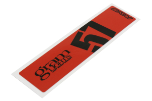 Gram Lights 57DR / 57CR Spoke Sticker Red (Part Number: )