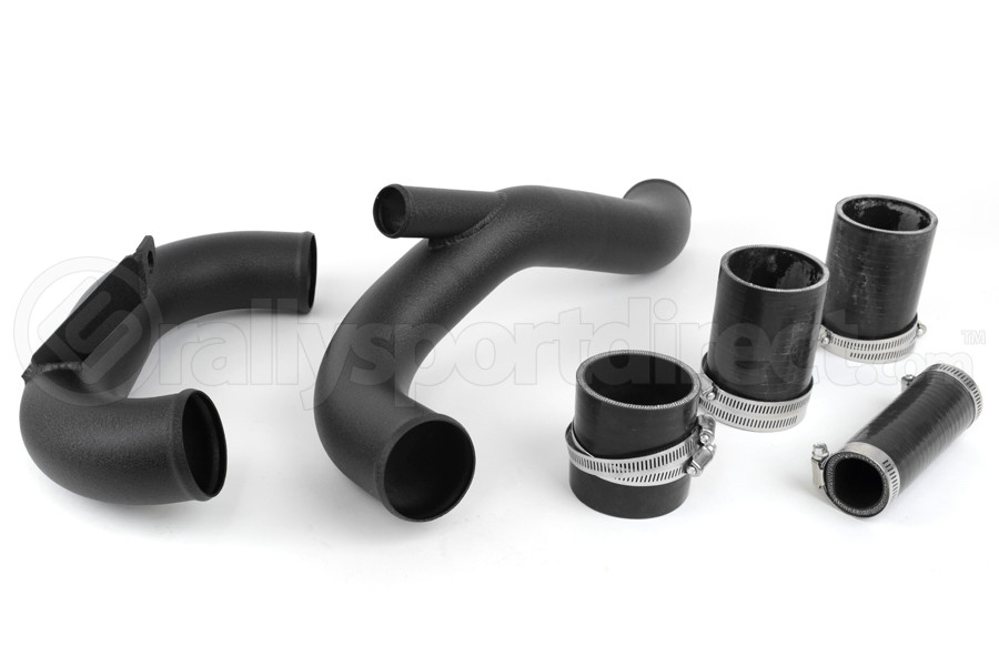 AMS Lower Intercooler Pipe Black ( Part Number:AMS AMS.04.09.0003-2)