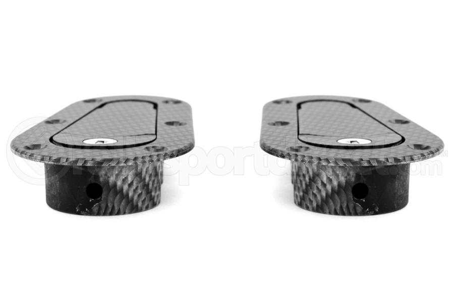 Aerocatch Hood Pins Locking Carbon Look (Part Number:120-3100)