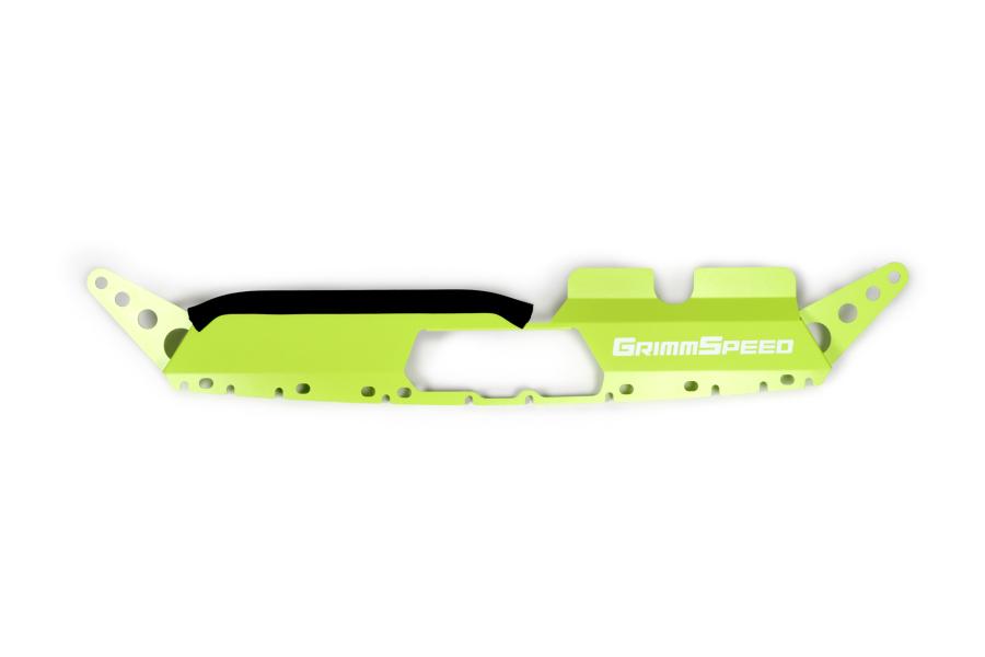 GrimmSpeed Radiator Shroud Neon Green - Subaru WRX / STI 2015-2021