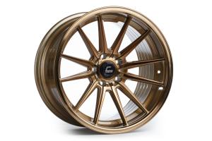Cosmis Racing Wheels R1 18X9.5 +35 5x114.3 Hyper Bronze - Universal