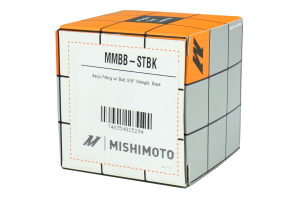 Mishimoto Banjo Fitting With Bolt M20 x 5/8 Straight ( Part Number:MIS MMBB-STBK)