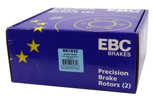 EBC Brakes Ultimax OE Style Rear Brake Rotors - Ford Focus ST 2013+