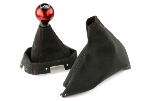 AutoStyled Shift and Brake Boot Kit w/ Shift Knob ( Part Number:ASA 09-14WRX-KIT)