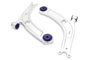 Super Pro Alloy Front Lower Control Arm Kit - Volkswagen Models (inc. 2015+ GTI / 2016+ Golf R)
