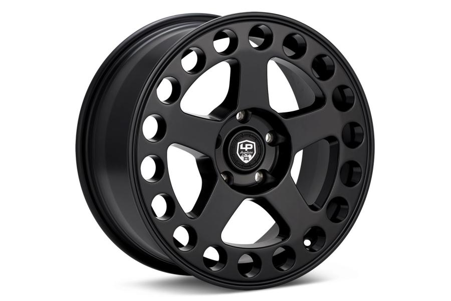 LP Aventure LP5 Wheel 17X8 +38 5x114.3 Matte Black - Universal