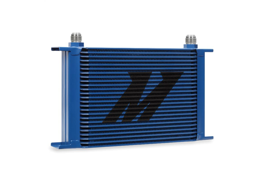 Mishimoto Universal 25 Row Oil Cooler Blue - Universal