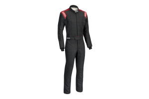 Sparco Conquest Racing Suit Black / Red - Universal