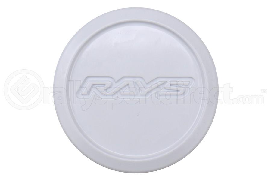 Volk Racing Rays Center Cap White - Universal