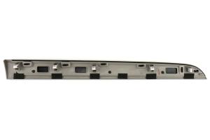 Subaru OEM Dash Trim Passenger Piano Black / Silver - Subaru Models (inc. 2015+ WRX/STI / 2013+ Crosstrek )