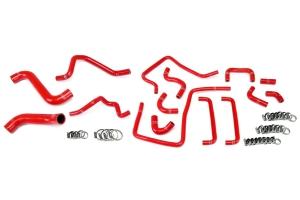 HPS Performance Reinforced Silicone Radiator & Ancillary Hose Kit - Subaru WRX / STI 2006-2007