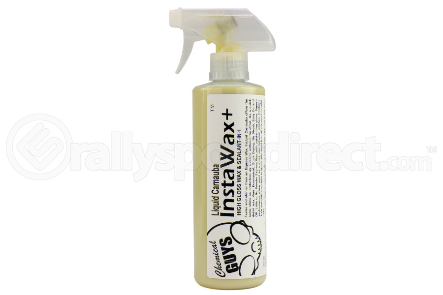 Chemical Guys InstaWax+ Liquid Carnauba Shine and Protection Spray (16oz) - Universal