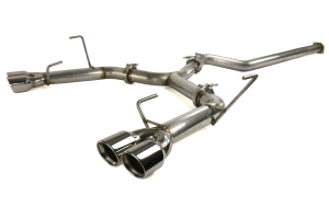 ETS Extreme Catback Exhaust System Polished Tips - Subaru WRX / STI 2015 - 2020