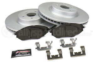 Power Stop Z17 Coated Brake Kit Front - Subaru Models (inc. 2008-2010 WRX / 2006-2012 Legacy)