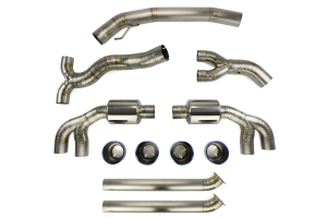 Tomei Expreme Ti Cat Back Exhaust - Nissan GT-R 2009+