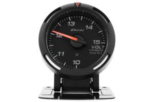 Defi White Racer Volt Gauge 52mm (Part Number: )
