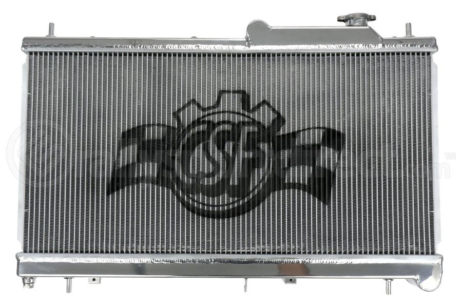 CSF Aluminum Racing Radiator - Subaru WRX 2008-2014 / STI 2008+