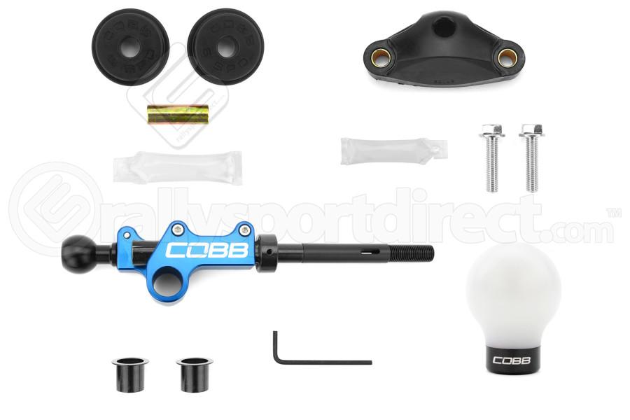 COBB Tuning Stage 1+ Drivetrain Package w/ White/Black Knob ( Part Number:COB 224X01P-W-BK)