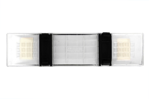 Napolex Broadway Air Rear View Mirror Flat 300mm Clear Frame (Part Number: )