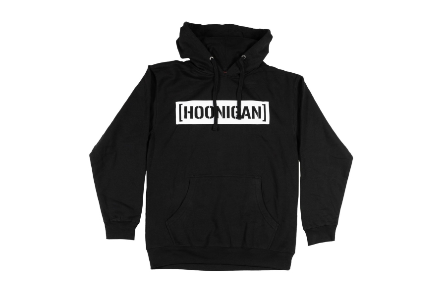 HOONIGAN Censor Bar Pullover Hoodie Black / White - Universal