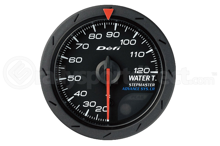 Defi Advance CR Water Temperature Gauge 52mm (Part Number:DF08402)