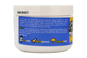 Chemical Guys XXX Hard Core Pure Carnauba Paste Wax (8 oz) - Universal