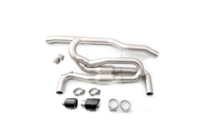 cp-e Triton Cat Back Exhaust w/ Adjustable Valve - Ford Focus RS 2016 - 2018