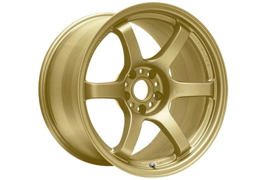 Gram Lights 57DR 18x9.5 +38 5x114.3 Almite Gold - Universal