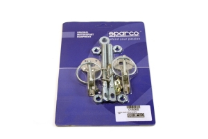 Sparco Hood Pins Silver Tuning (Part Number: )
