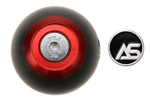 AutoStyled Subaru 5 Speed Shift Knob Red w/ Black Delrin Center - Subaru 5MT Models (inc. 2002-2014 WRX)
