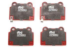 DBA XP650 Track  Performance Rear Brake Pads - Mitsubishi Evo X 2008-2015