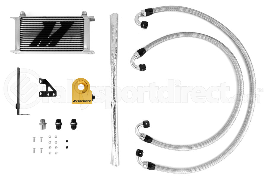 Mishimoto Thermostatic Oil Cooler Kit (Part Number:MMOC-STI-15T)
