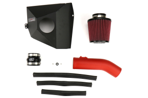 GrimmSpeed StealthBox Cold Air Intake Red - Subaru STI 2015-2018