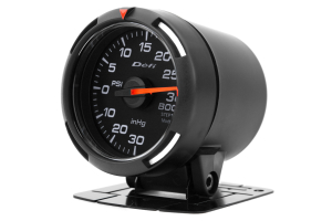 Defi White Racer Boost Gauge Imperial 52mm 30 PSI (Part Number: )