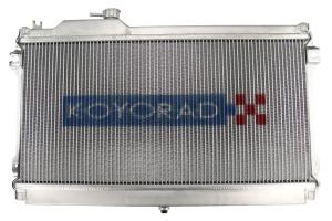 Koyo Aluminum Racing Radiator Manual Transmission - Mazda Miata MX-5 1989-1993